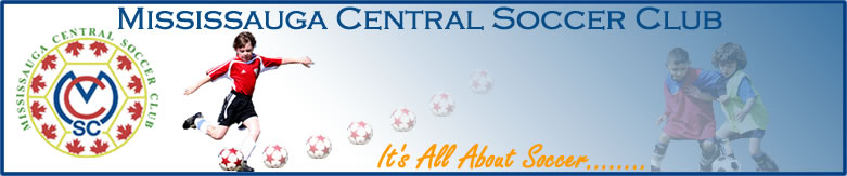 Mississauga Central Soccer Club Logo
